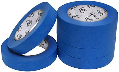 Stesa Blue Painters Tape 1 Inch No Residue Easy 14 Day