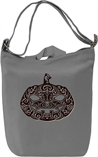 Pumpkin Borsa Giornaliera Canvas Canvas Day Bag| 100% Premium Cotton Canvas| DTG Printing|