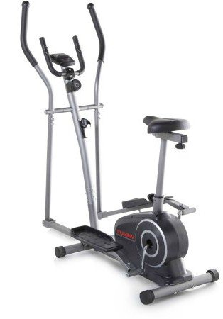 Elliptical Machine, Exercise Bike- 2-in-1 Hybrid Trainer – DiZiSports Store