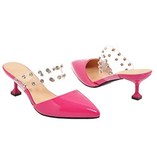 Mujer JYshoes 1 JYshoes Destalonada Rot Destalonada StR0xY