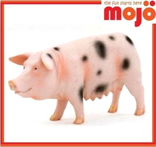 k Spotted Sow Pig - Realistic Farm / Ranch / Barnyard Animal Toy Replica ()