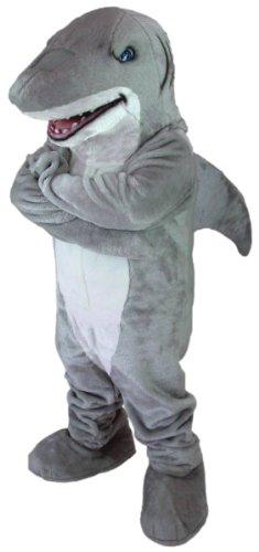 Shark Mascot Costume ()