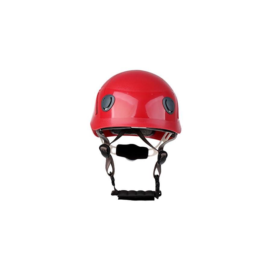 MonkeyJack Adult Professional Rock Climbing Helmet Caving Rescue Hard Hat