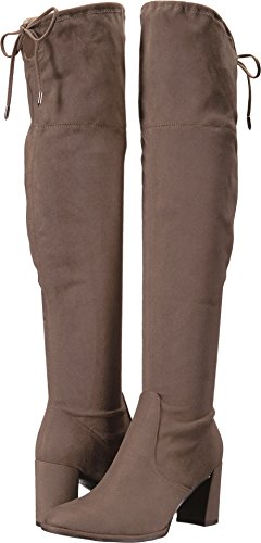 Marc Fisher Women's LENCON Over The Knee Boot, Taupe, 10 Medium US