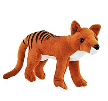 Amazon Com Elka Australia Tasmanian Tiger Thylacine Soft Plush Toy