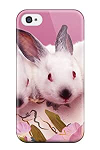 Anti-scratch And Shatterproof Abstract 3d Easters Phone Case For Iphone 4/4s/ High Quality Tpu Case
