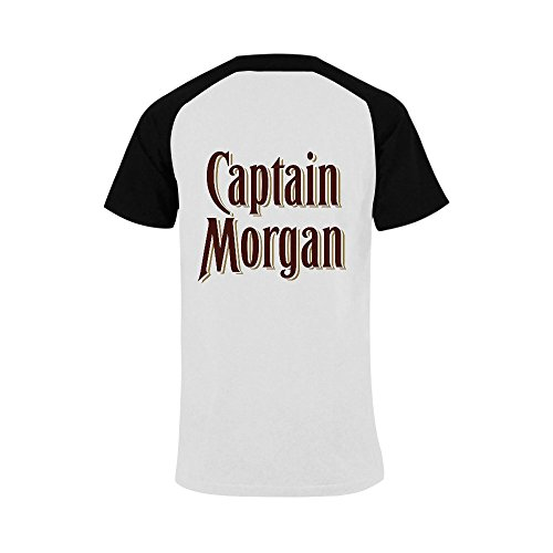 Findom-Captain-Morgan-Black-Mens-Raglan-T-shirt-USA-Size-XXXXL