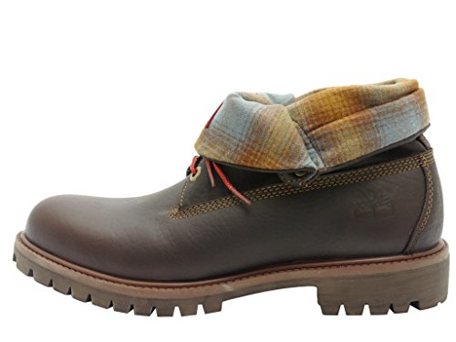 Timberland Roll Top_roll Top_roll Top F/F Af - botas de media caña con forro cálido Hombre Marrón - marrón oscuro