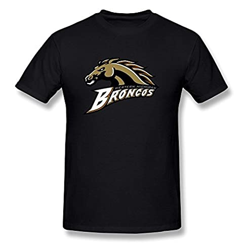 EnHui Man's Western Michigan Broncos Brand New Tshirt XS Black