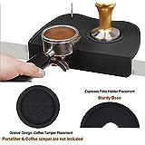 Joyevic Espresso Silicone Mat,Espresso Tamper Mat,Coffee Tamp Mat Silicone Coffee Tamper Mat,