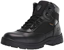 Skechers Men's New Wascana-Benen Military and Tactical Boot, Black, 11 M US