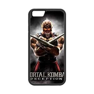 iPhone 6 Plus 5.5 Inch Cell Phone Case Black Mortal Kombat vjts