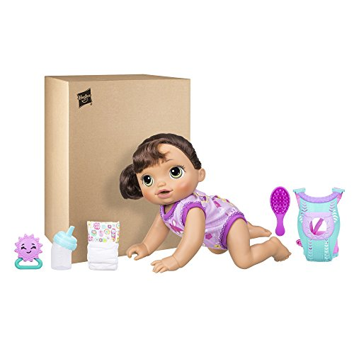 Baby Alive Baby Go Bye Bye Brunette Buy Online In Uae