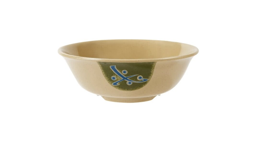 G.E.T. M-811-TD, Traditional Collection, Brown 1 qt. Melamine Bowls (Qty, 12)