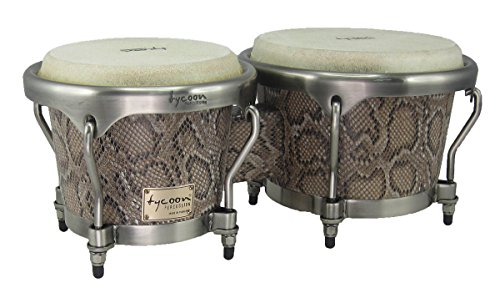 Tycoon Percussion MTBF-800BCF 7 and 8-1/2 Inches Master Series Bongos, Boa Finish by Tycoon Percussion
