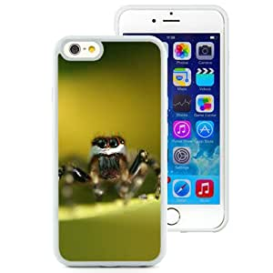 New Custom Designed Cover Case For iPhone 6 4.7 Inch TPU With Spider Close Up Animal Mobile Wallpaper (2) Phone Case