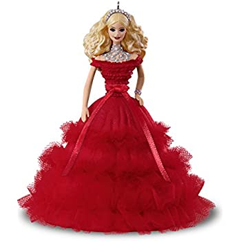 Hallmark Keepsake Christmas Year Dated, 2018 Holiday Barbie Doll Ornament