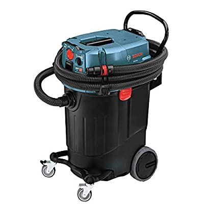Bosch VAC140AH-RT 14-Gallon Dust Extractor with Automatic Filter Clean and HEPA Filter (Certified Refurbished)