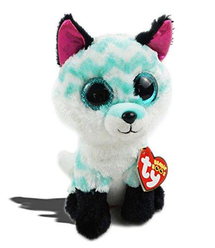 "KonThai 6"" TY Beanie Boos Animal Piper Dog Glitter Eyes With"