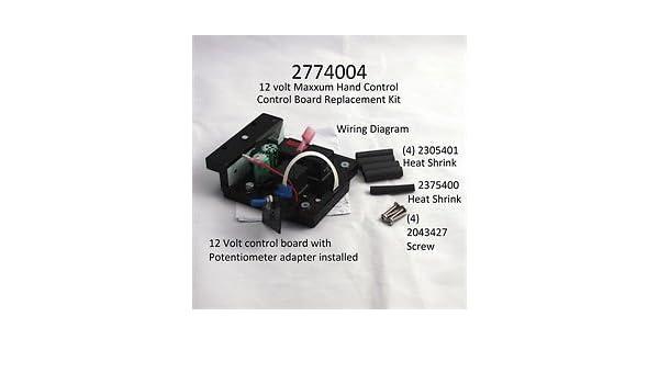 Minn Kota Maxxum or Riptide 12V Hand Control Board #2774002