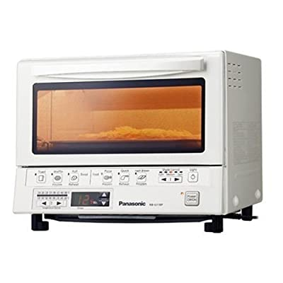 PANASONIC Flash Xpress Toaster Oven in White / Temperature settings (250°F-500°F) / PAN-NB-G110PW / by Panasonic