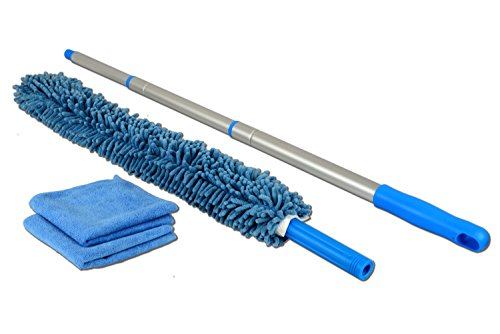 Chenille Microfiber High Duster Flexible Dusting Wand