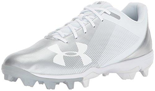Under Armour Men's Leadoff Low RM Baseball Shoe, White/White, 11.5 M US