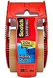 Scotch Heavy Duty Shipping Packaging Tape, 1.88 Inch x 800 Inch, Tan