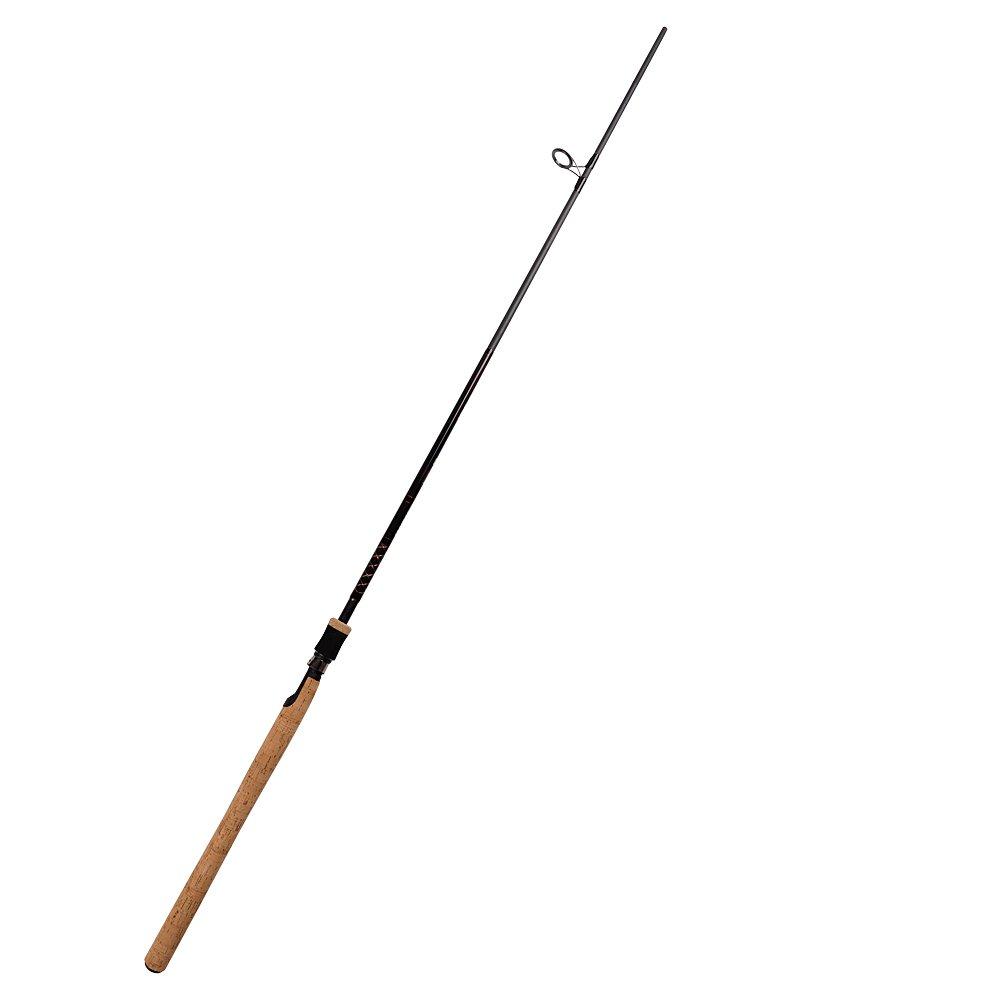 Fiblink sea bass fishing rod 2 piece medium heavy spinning for Ocean fishing rods