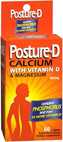 Posture-D Caplets 60 Caplets (Pack of 4)
