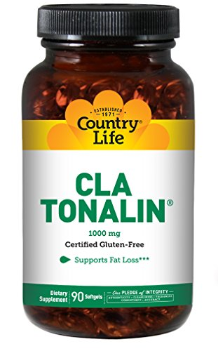 Country Life - CLA Tonalin, Supports Fat Loss - 90 Softgels by Country Life