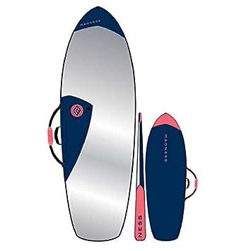 'Custodia di surf Madness 6' 4Pe Fish Blu, blu