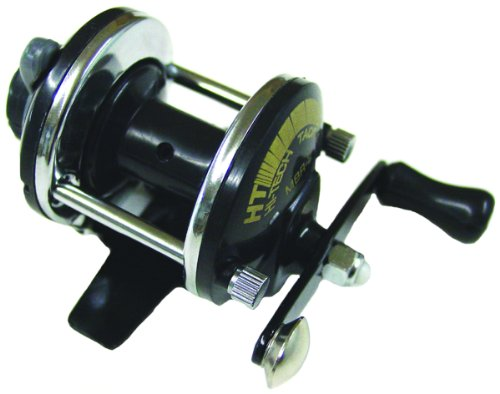 HT Enterprises Deluxe Mini Bait Cast Reel with Drag, - Mini Cast