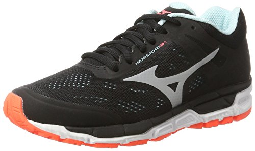 Mx Silver Multicolor Women's Synchro Black Running Shoes Fierycoral Mizuno W qHFvE