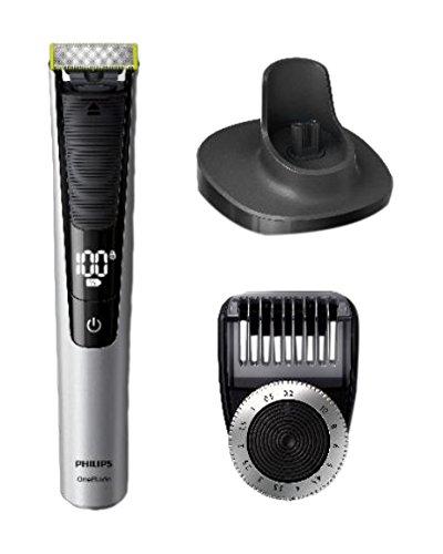 Philips QP 6520/20 Recargable Negro, Plata cortadora de pelo y maquinilla - Afeitadora (Negro, Plata, 1 cm, 0,4 mm, 90 min, Integrado, Batería) QP6520/20