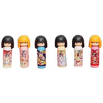 Iwako Kokeshi Doll Japanese Eraser 1 Supplied: Office Products