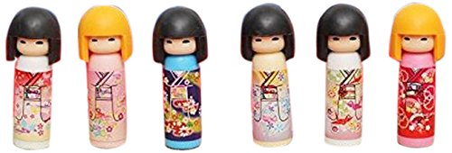 Iwako Kokeshi Doll Japanese Eraser 1 Supplied