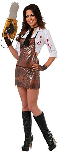 Secret Wishes Women's Sassy Miss Leatherface Costume