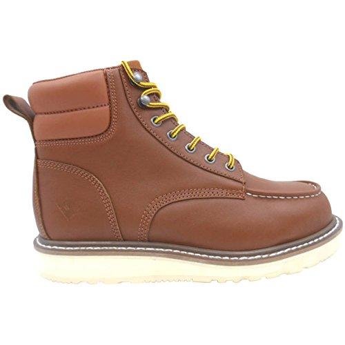 Herman Survivor Foreman Men's Steel Toe Waterproof Brown Work Boots (9.5 US)