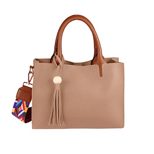 OBC Only-Beautiful-Couture - Bolso al hombro para mujer gris gris ca.: 32x24x12 cm (BxHxT) pardo