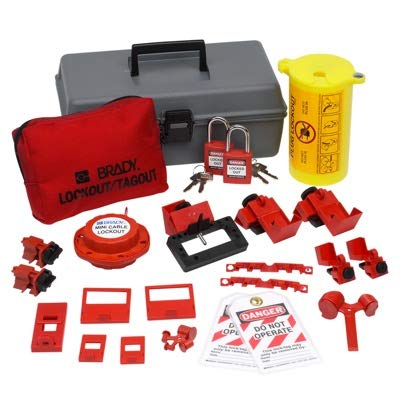 Electrical LO Toolbox,W/Safety Locks