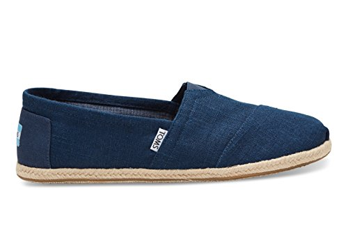 Toms Navy Linen Rope Men's ALPR Esp 10008553 (SIZE: 11) - Toms Shoes Size 11