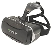 VR Shinecon 2.0 Virtual Reality Headset for Smartphones Up to 6.4