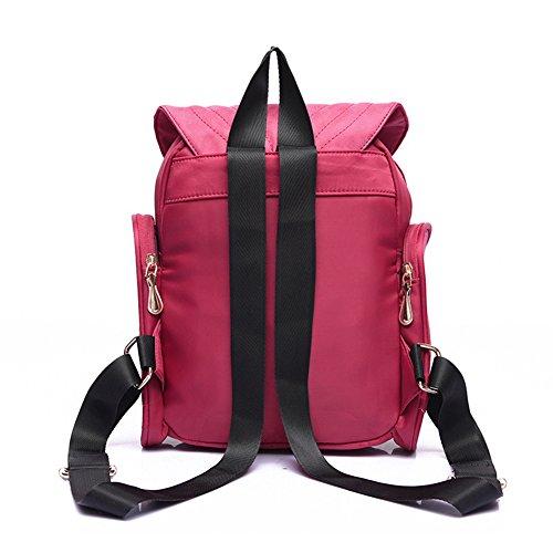 Estwell - Bolso mochila  para mujer, negro (negro) - OBL1158 negro