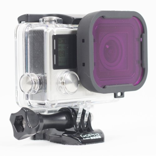 PolarPro Magenta Filter-Green Water-For GoPro Hero4 Standard Housing by Polar Pro Filters