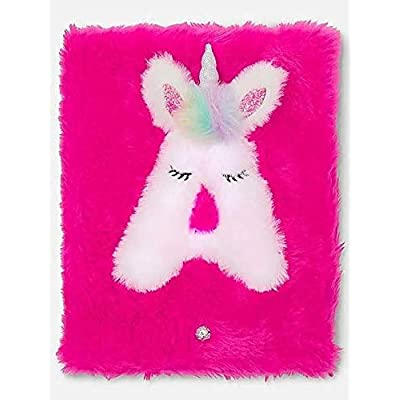 Justice Light Up Unicorn Initial Journal (Letter S): Office Products [5Bkhe0302315]
