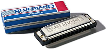 Amazon com: HOHNER Blues Band Harmonica - Key Of G: Musical Instruments