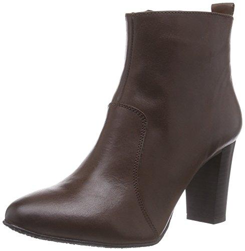 Johannes W. Kizzy, Women's Cold Lined Classic Boots Short Length Brown - Braun (Marron Osc.)