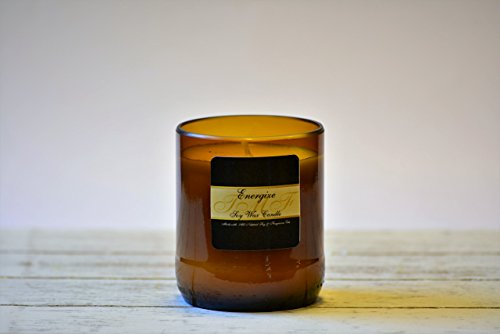 Energize Soy Wax Candle | 4 Ounce Candle Burns 25+ hours.