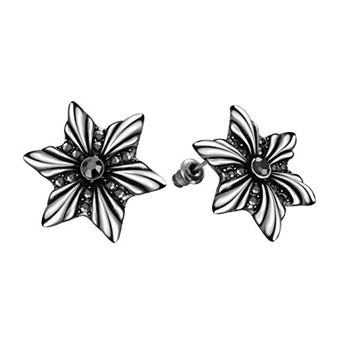 Fashion Flower Stud Earrings European Fashion Ladies Earrings Birthday Party Earrings